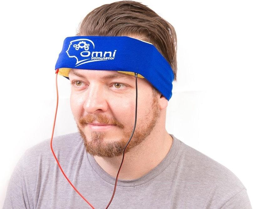 transcranial stimulation device kit